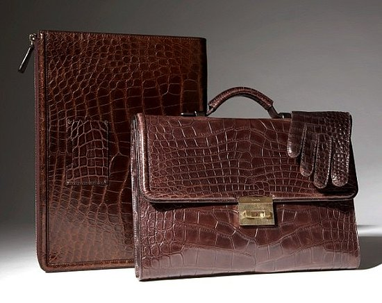 Tom Ford alligator luggage